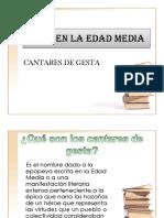 EPICA EN LA EDAD MEDIA