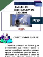 TALLER ADMON. DE CAMBIOS