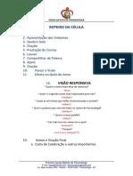 ROTEIRO DA CÉLULA E VISÃO RESPONSIVA 2019