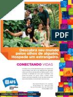 Divulgação AFS Brasil - Recebimento de Estudantes