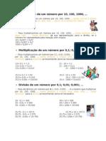 Mat. - Texto apoio - Regras multiplicação