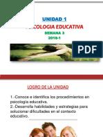 semana 3 psicologia educativa