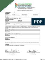 Smiths Creek American Legion Post 525 - PrintInspection