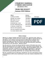 Sf Bota Newsletter January 2020