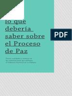 CARTILLA PEDAGOGICA SOBRE EL PROCESO DE PAZ