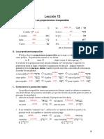 06. Lección 13 - Preposiciones