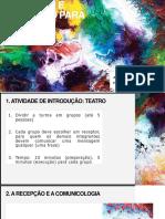 AULA 2_RECEPÇÃO E EDUCAÇÃO PARA OS MEIOS