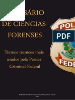 Glossário de Ciências Forenses - Perícia Criminal Federal