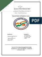 Behavioyr of stock market in india