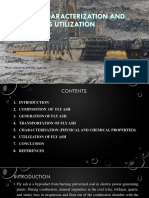 FLY ASH CHARACTERIZATION AND ITS UTILIZATION10