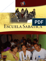 ESCUELA SABATICA Y EL DESARROLLO DE LAS CLASES
