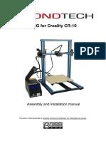 Bondtech-Creality-CR-10-Installation-Guide-V1.0