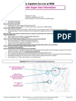 MSB Provider Super User Info Sheet