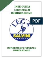 Immigrazione-LINEE GUIDA - libro