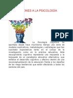 Aportaciones a la psicologia