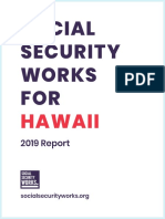 Social Security in Hawaii Report