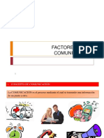 5 y 6 FACTORES DE LA COMUNICACION