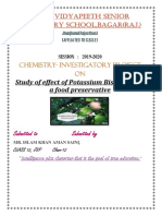 Effect Of Potassium Bisulphite As A Food Preservative.docx