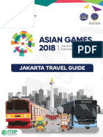 Booklet Jakarta Travel Guide - Asian Games - Print Version