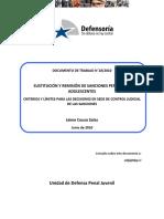 Dcto. de Trabajo 18-2010 Sustitución y remisión de sanciones penales de adolescentes.pdf