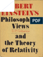gribanov-albert-einstein-philosophical-views-and-the-theory-of-relativity-progress-1987