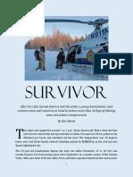 Winter Fire Survivor 1-10-2020