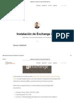 Instalación de Exchange 2016 _ AprendiendoExchange.com