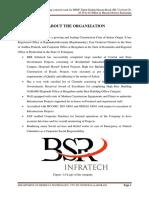 Internship report on cc pavements