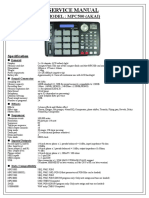 MPC500 SERVICE MANUAL