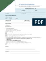 JANUS - DS2019 Application 1