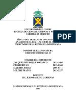 Análisis sobre el código tributario Ley 11-92 de la Republica Dominicana.docx