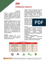 Cograem Hydraulic AW3 22 - 2019