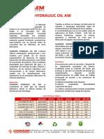 Cograem Hydraulic Oil AW - 2019 Agosto