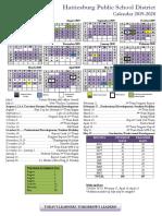 FINAL 2019.2020 HPSD Calendar.3.5.19