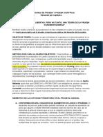 ESTANDARES DE PRUEBA Y PRUEBA CIENTIFICA