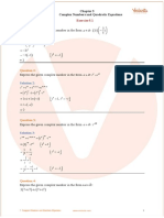 Chapter 5. Complex Numbers and Quadratic Equations
