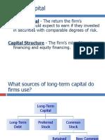 WACC Summary Slides
