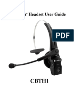 Cobra CBTH-1 Head Manual