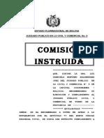 COMISION INST. BANCO UNION - GUILLERMO VILLCA