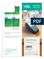 Activation and Chip and Pin flyer
