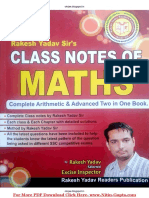 Rakesh Yadav Class Notes Math in Hindi PDF Free Download.pdf