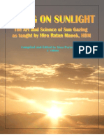 The Art and Science of Sun Gazing Living on Sunlight