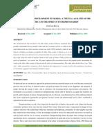 1. Ijrbm- Entrepreneurial Development in Nigeria a Textual Analysis Ofthe Igbo Ethic and the Spirit of Entrepreneurship