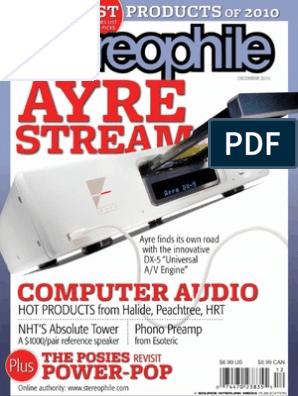 95ff2eecb Stereophile 2010-12   Entertainment (General)   Leisure