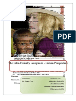 Inter Country Adoptions, Indian Perspective