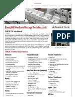 EnerLINE Medium Voltage Switchboards _ SUBCOE _ VFD, Power & Control Systems OEM