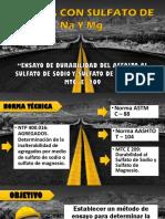 1 ENSAYO  DE PERDIDA CON SULFATOS
