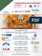 Locandina Rassegna 2018
