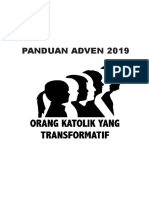 PANDUAN ADVENT 2019