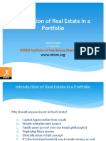 Integration of Real Estate in Portfolio